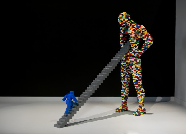 Exhibition review the art of the brick exposure for Buy street art online